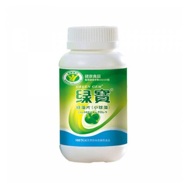 Chlorella - Pote com 360 Tabletes  de 250mg